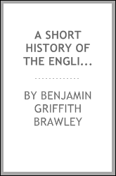 A short history of the English drama