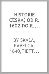 download historie česká, od r. 1602 do r. 1623