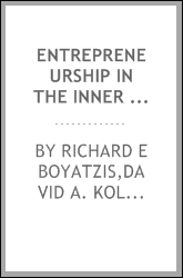 Entrepreneurship in the inner city: a case study of organizational development