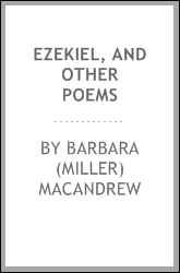 Ezekiel, and other poems
