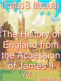 download History of England from the Accession of James II, Volume I book
