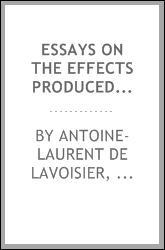 Essays on the Effects Produced by Various Processes on Atmospheric Air: With a Particular View ...