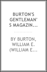 Burton's gentleman's magazine and American monthly review