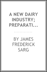 "A new dairy industry; preparation and sale of artificial mothers' milk ""Normal infants' milk"""