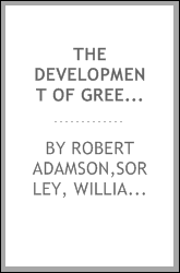 The development of Greek philosophy