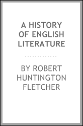A History of English Literature