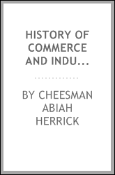 History of commerce and industry