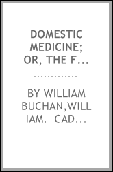 download Domestic medicine; or, The family physician: book