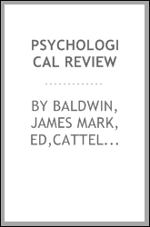 Psychological review