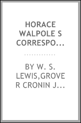 Horace Walpole S Correspondence With William Mason I