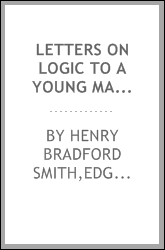 Letters on logic to a young man without a master