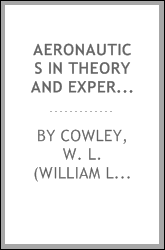 Aeronautics in theory and experiment