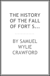 The history of the fall of Fort Sumpter