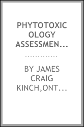 Phytotoxicology assessment survey in the vicinity of the Shell, PetroCanada and Imperial Oil petroleum tank farms, Toronto - 1991