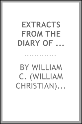 Extracts from the diary of William C. Lobenstine