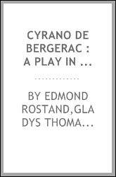 Cyrano de Bergerac : a play in five acts