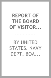 Report of the Board of visitors to the United States naval observatory. 1899