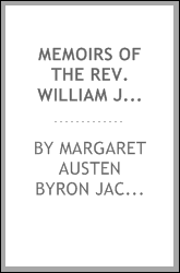 Memoirs of the Rev. William Jackson : first rector of St. Paul's church, Louisville