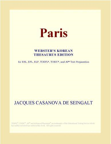 download Paris (Webster's Korean Thesaurus Edition) book