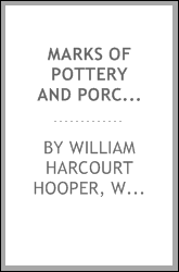Marks of pottery and porcelain