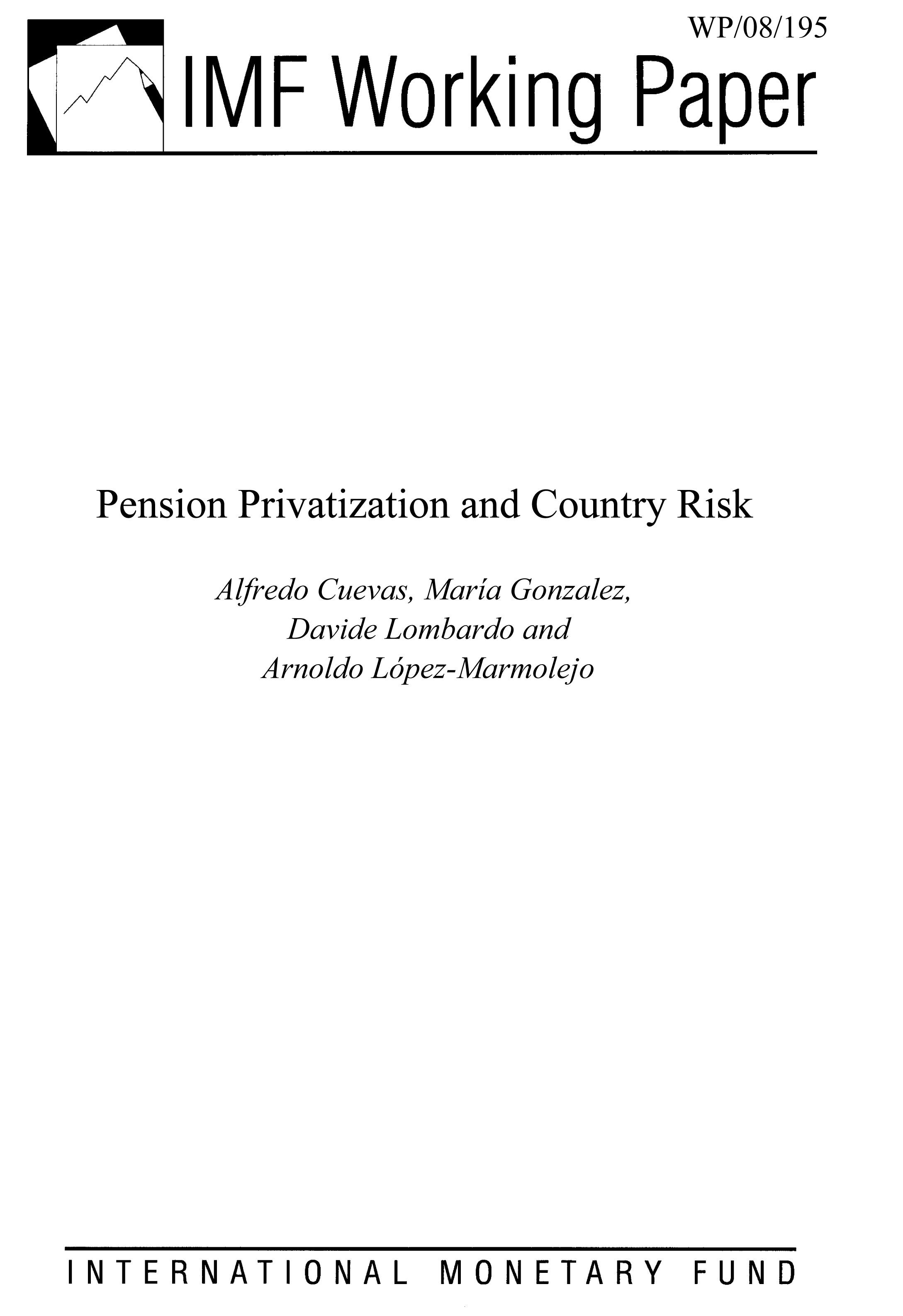 Pension Privatization and Country Risk