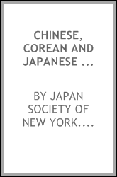 Chinese, Corean and Japanese potteries;
