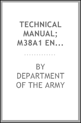Technical Manual; M38A1 Engine and Clutch Manual