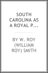 South Carolina as a royal province, 1719-1776
