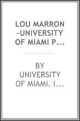 Lou Marron-University of Miami Pacific billfish expedition, preliminary report for 1954