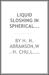 Liquid sloshing in spherical tanks