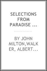 download Selections from Paradise lost, including books I. and II. entire, and portions of books III. IV., VI., VII., and X book