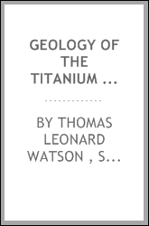 Geology of the Titanium and Apatite Deposits of Virginia