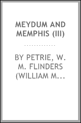 Meydum and Memphis (III)