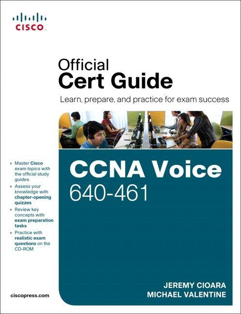 CCNA Voice 640-461 Official Cert Guide