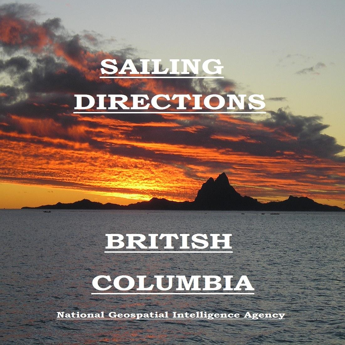 Sailing Directions - British Columbia