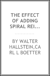 download the effect of adding <b>spiral</b> reinforcing to vertically r