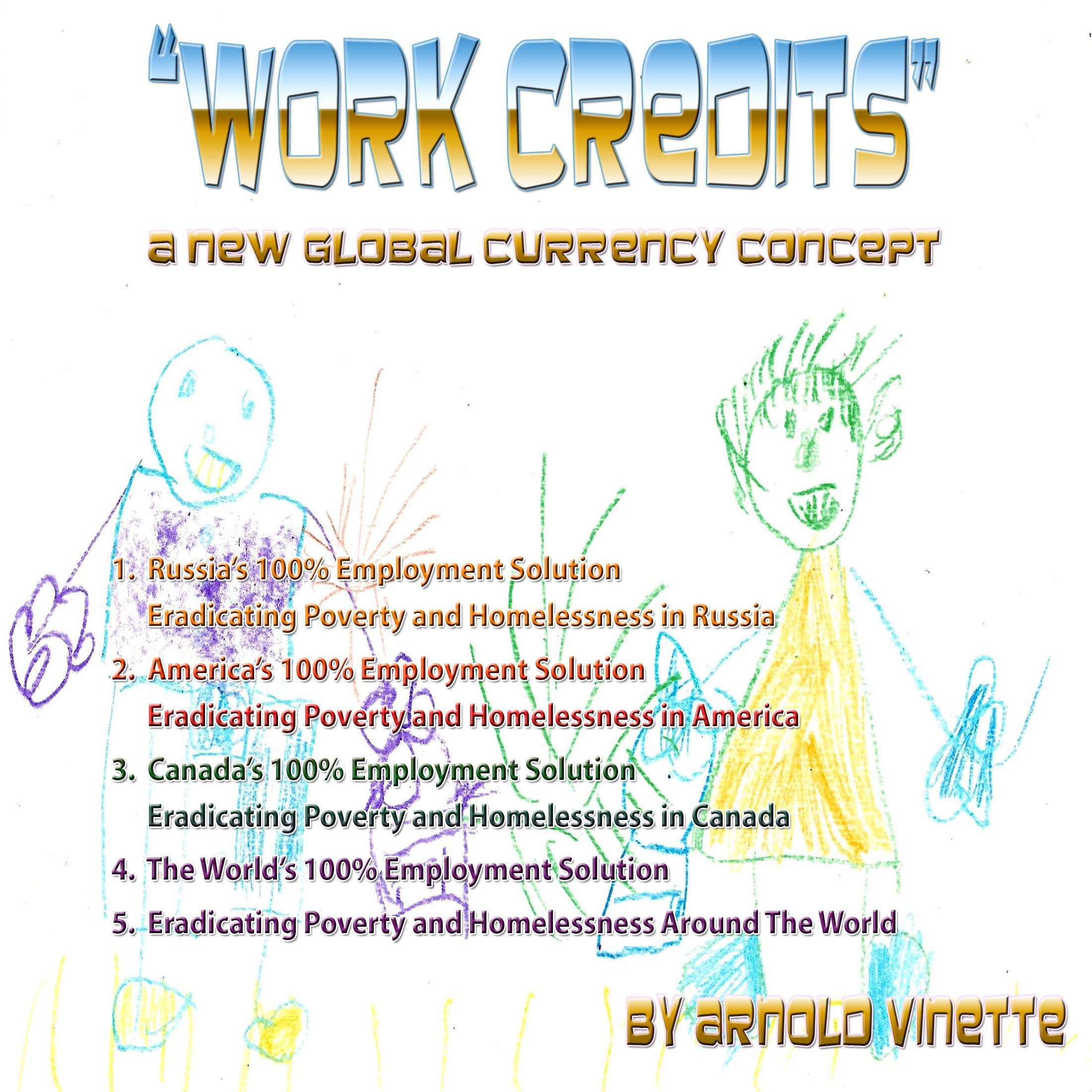Work Credits - A New Global Currency - English