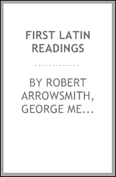 First Latin readings