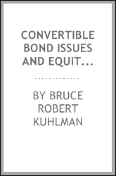 Convertible bond issues and equity price impacts