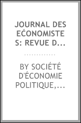 download journal des ećonomistes: revue de la science écono