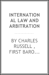 International Law and Arbitration