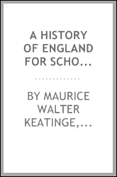 A history of England for schools; with documents, problems, and exercises