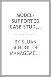 Model-supported case studies for management education
