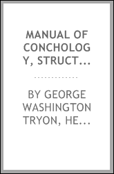 Manual of Conchology, Structural and Systematic