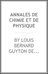 download annales de chimie et de physique book