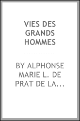 download vies des grands hommes book