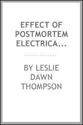 Effect of postmortem electrical stimulation on the texture of hot-boned, chill-boned, and age-boned broiler breast fillets