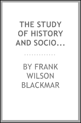 The Study of History and Sociology