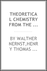 download theoretical chemistry from the standpoint of avogadro's