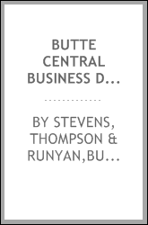 Butte central business district